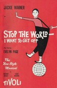 Program for Stop the World – I Want to Get Off